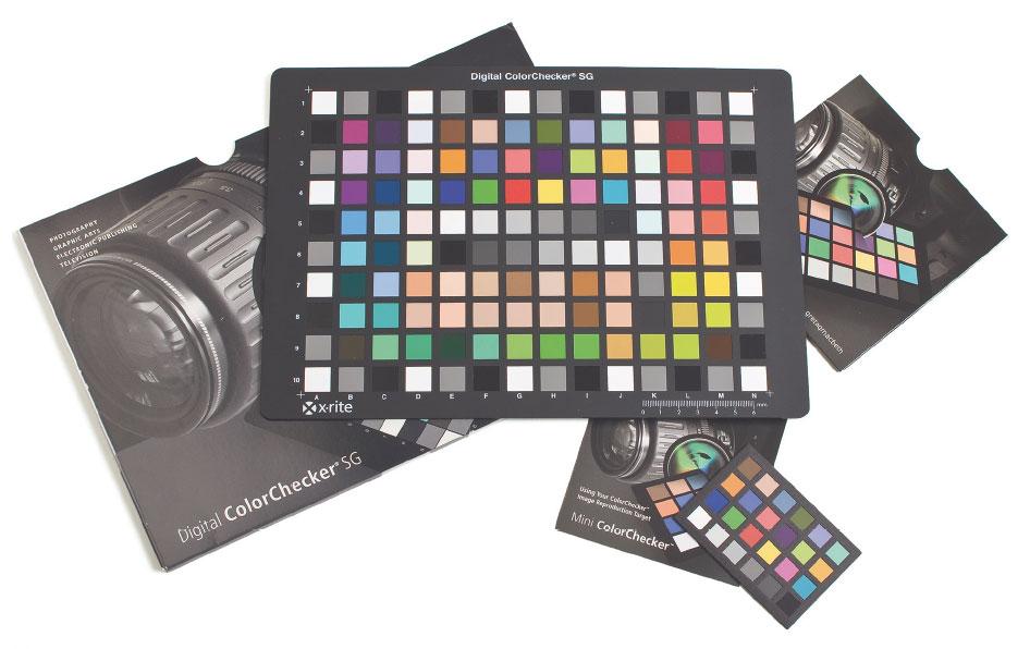 Figura 1: la scheda ColorChecker SG è stata ottimizzata per lo scatto digitale