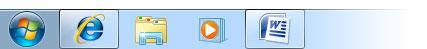 Figura 2: le icone della barra delle applicazioni