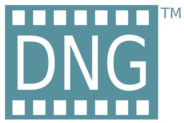 Figura 1: Il logo che contraddistingue il DNG (Digital Negative)