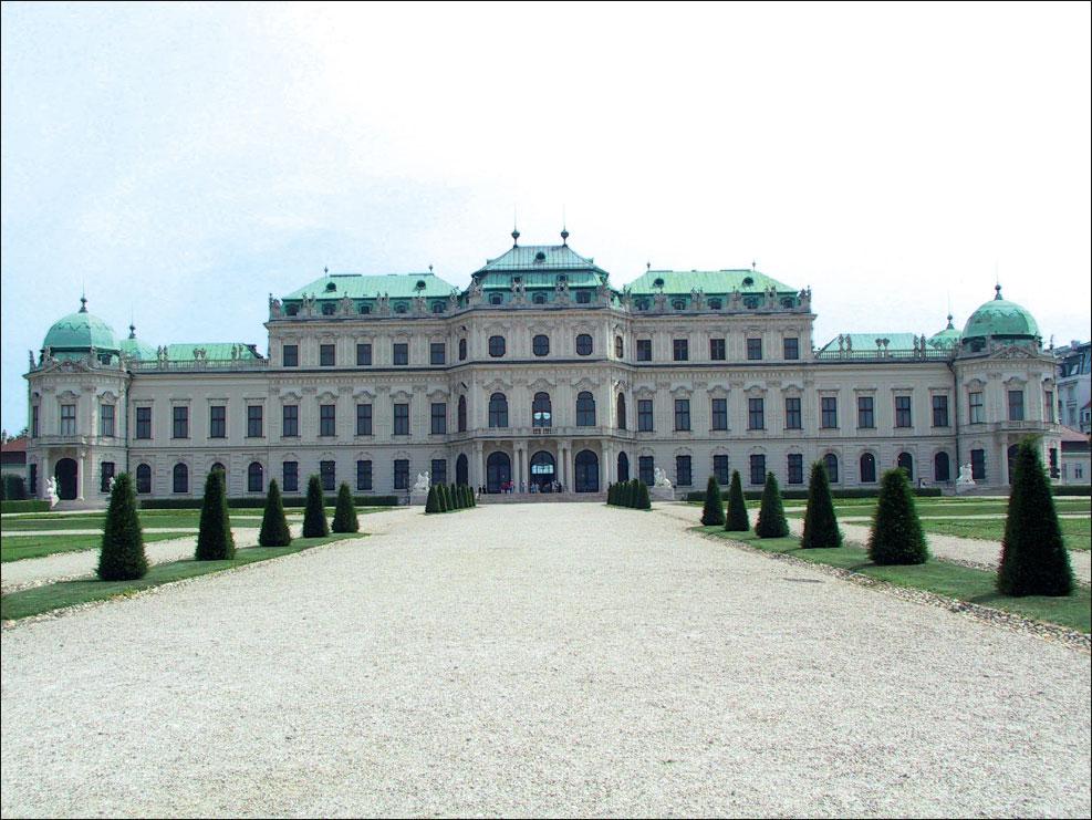 Figura 1: la classica foto ricordo di un palazzo: basta collocarsi (se lo spazio lo consente) sull'asse centrale usare il grandangolare alla massima ampiezza e scattare