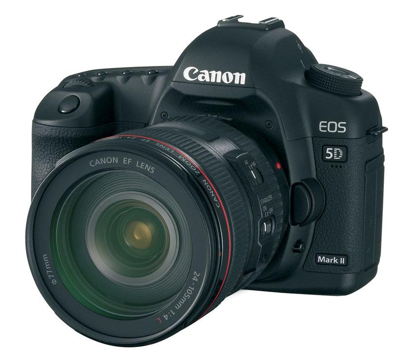 Figura 2: la Canon EOS 5D Mark II. Ideale per gli scatti in scarse condizioni di luce
