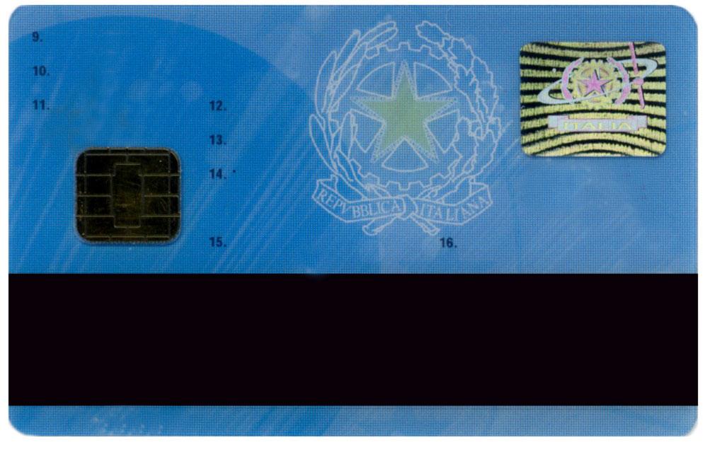 Figura 3: una carta di credito elettronica