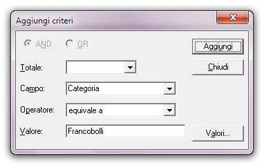 Figura 3: la finestra importa dati
