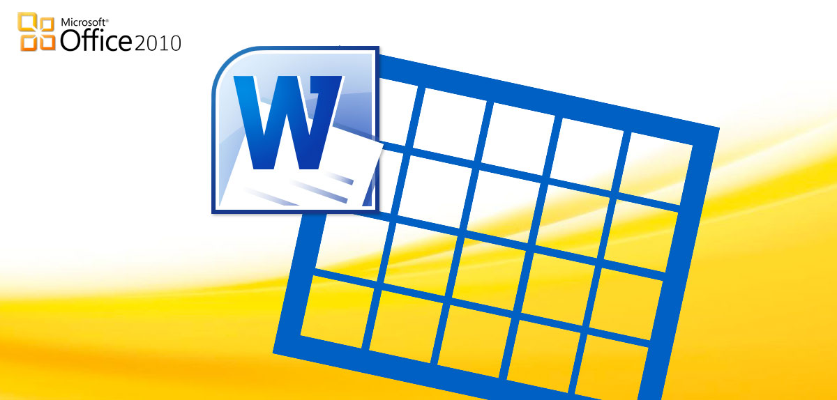 Simbolo Calendario Word.Lavorare Con Le Tabelle In Word 2010 Come Fare A Il