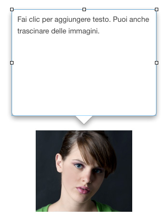 Figura 13: un esempio di finestra a scomparsa in iBooks Author